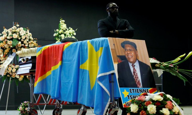 Etienne Tshisekedi Grand coordon de l'ordre national héros nationaux Kabila-Lumumba