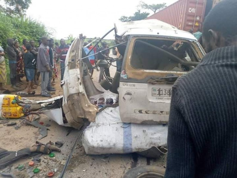 Kongo central: sept morts des suites d'un accident de circulation à Kwilu