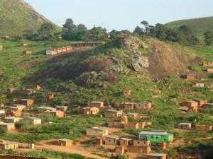 Un quartier périphérique de Matadi / Infobascongo