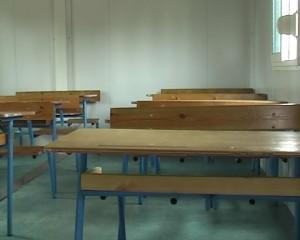 une salle de classe vide/ Photo Infobascongo