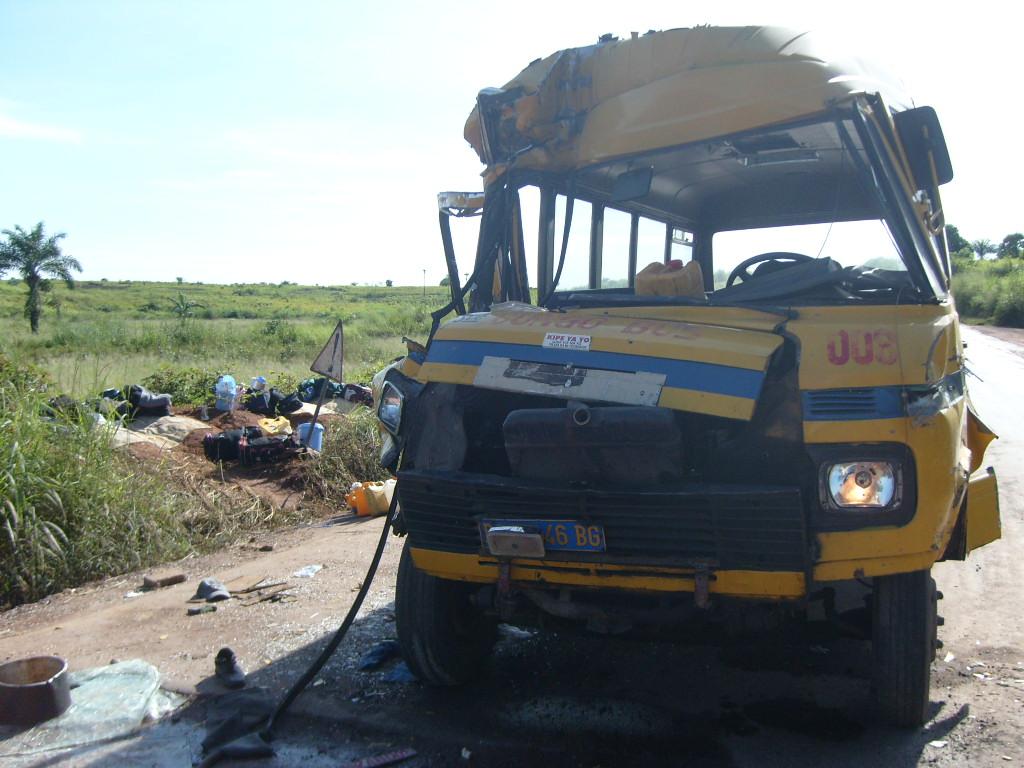 Accident de vehicule/Photo Infobascongo