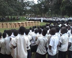 sensibilisation des élèves /infobascongo