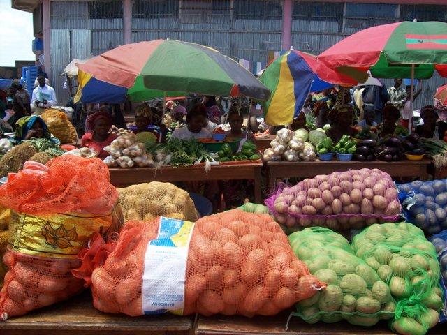 Photo des produits agricoles des maraîchers de Mbanza-Ngungu/Infobascongo