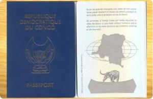 le nouveau passeport congolais/photo radiookapi.net