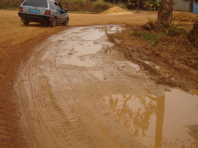 route boma-Muanda après la pluie/infobascongo