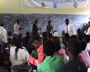 Journee mondiale du Sida à l'ISC/Photo Infobascongo