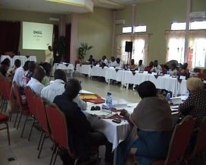 Les participants en atelier/infobascongo