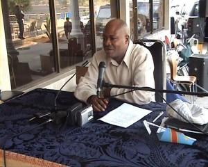 Point de presse du Président de l'Assemblé/Photo infobascongo