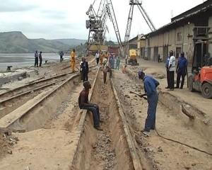 les travaux de réhabilition du quai 4/Infobascongo