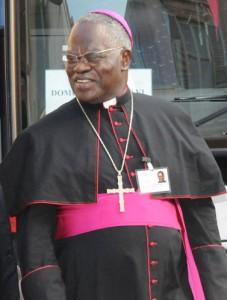 Cardinal Monsengwo, archevêque de Kinshasa