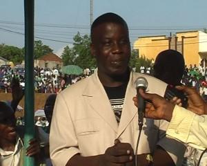 Jean-Marc Nzeyidio, Maire de Matadi / Photo Infobascongo