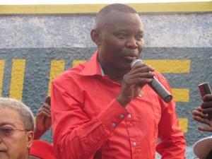 Vital Kamerhe s'adressant aux Matadiens/Infobascongo