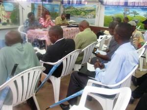 Réunion entre journalistes,Monusco et structures des journalistes/infobascongo