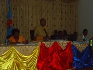Les membres du bureau de l'assemblée provinciale/Infobascongo