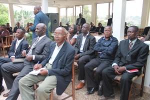 Des journalistes de Matadi à la résidence du gouverneur au Ciné-palace/Infobascongo