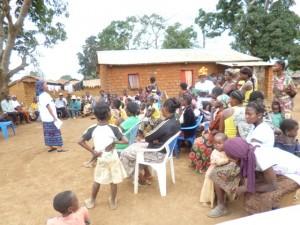 Sensibilisation des habitants de Tshimpi par le Refed/Infobascongo