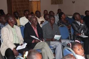 Des enseignants à Stone Palace à Mataddi/Infobascongo