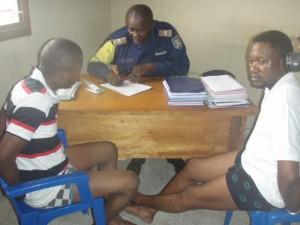 Les deux présumés bandits arrêtés à Matadi