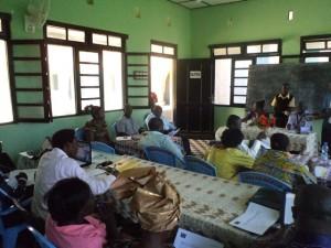 Des paysans du Bas-Congo en atelier RCN à Moanda/Benita Sambu