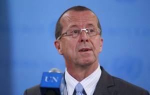 Martin Kobler, représentant spécial du secrétaire général de l'Onu en Rdc