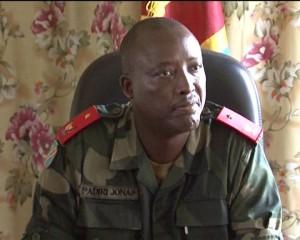 Général Jonas Padiri, commandant 2eme région militaire / Infobascongo