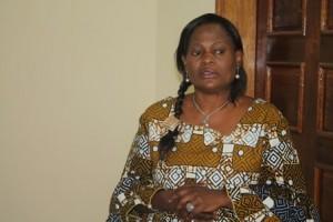 Chantal Malamba plaidant la cause de la femme rurale / Infobascongo