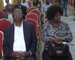Kibambi Shintwa et Chantal Kanyimbo, orateurs