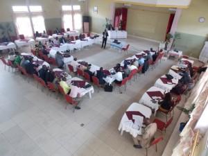 En formation avec l'Unesco sur les infractions de presse/infobascongo