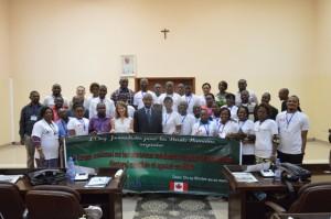 Les participants du Forum national organisé par JDH