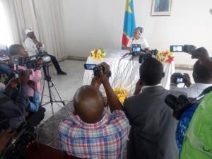 ITW de Madame Olive à Matadi/Photo Infobascongo
