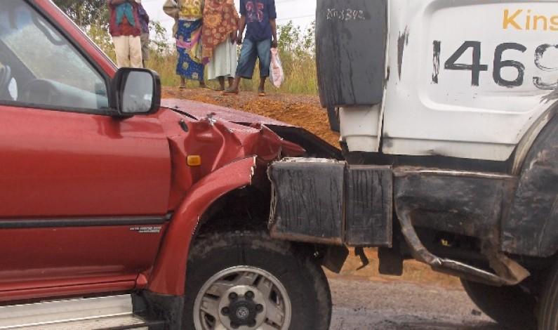 Lwuila : un accident de circulation tue huit commerçants