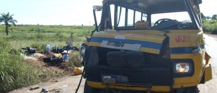 En 2020 ,moins d'accidents de la route,plus de morts au Kongo central