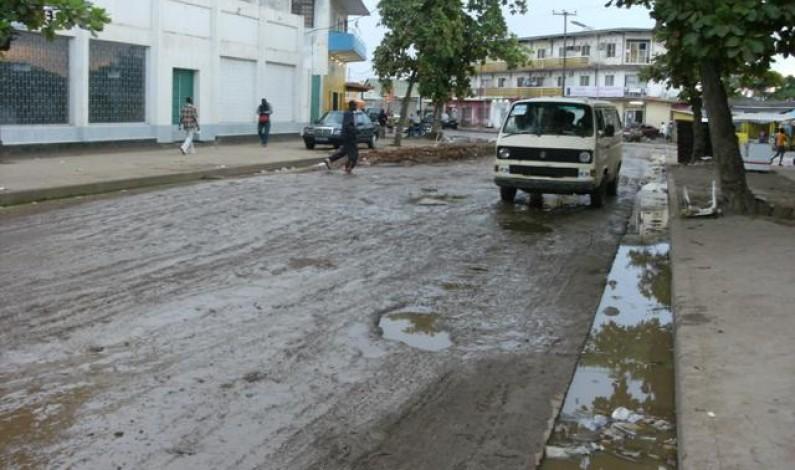 Impraticable route Boma-Muanda