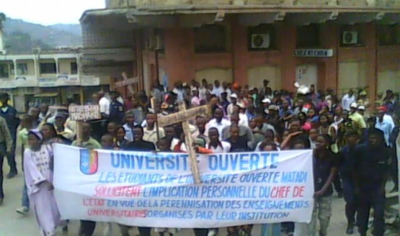 Matadi : Une altercation entre des étudiants du CIDEP et la Police fait 9 blesses