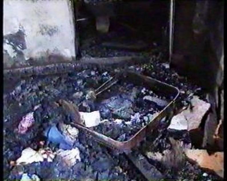 Des bidons d'essence provoquent un incendie dans une habitation à Matadi