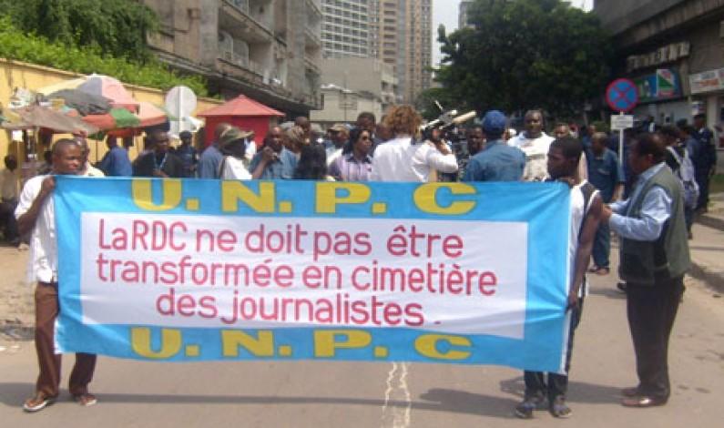 Matadi : Les professionnels des médias dans la rue