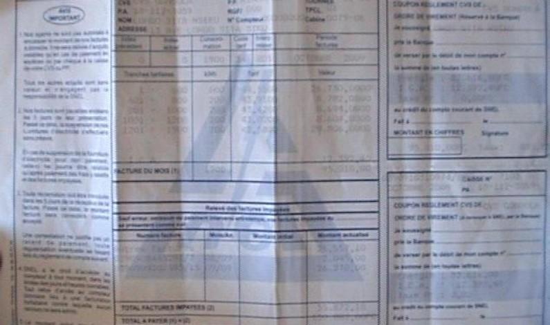 Matadi : la Snel interdite de continuer à déposer ses factures trop salée