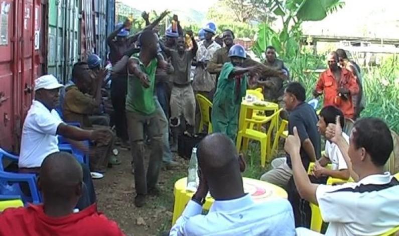 Bas-Congo : Les Chinois vendent caillasse, moellons et sable  en Angola