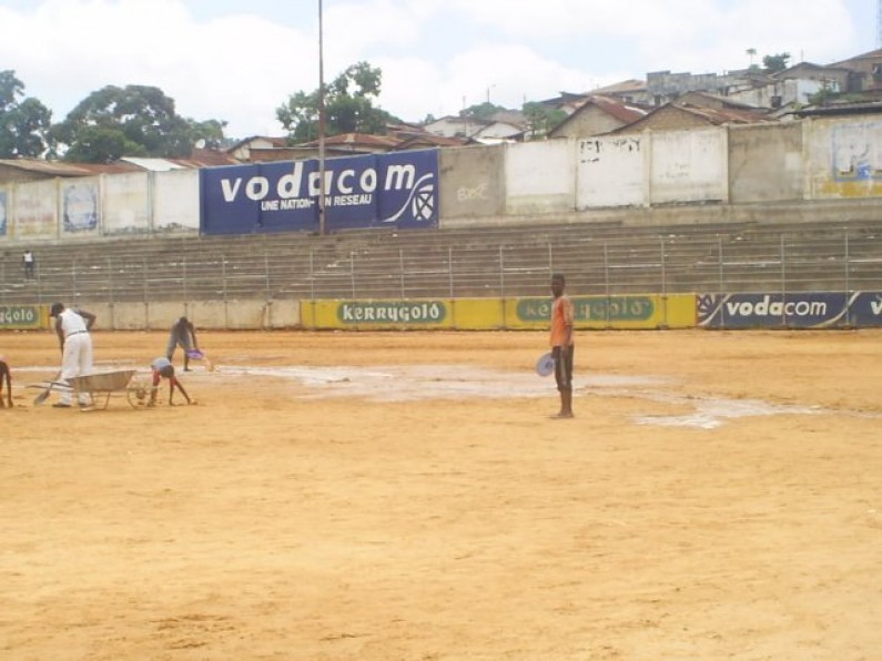 Matadi : la plantation de la pelouse retarde le championnat