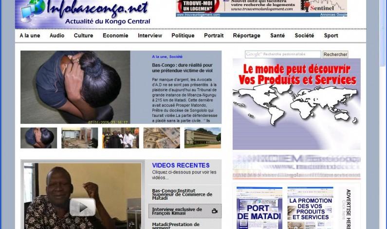 Bas-Congo : des menaces contre www.infobascongo.net