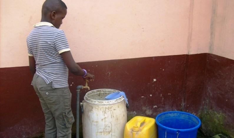 Matadi : l'eau, denrée rare