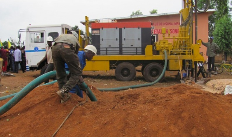 Kisonga : Enfin de l'eau en permanence pour les habitants