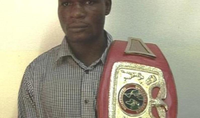 Sport : le boxeur Sadiki du Bas-Congo, champion de Shark 11