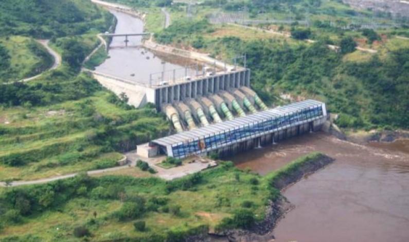 Rd Congo:Inga : moins d'eau dans le fleuve, moins d'électricité pour tous