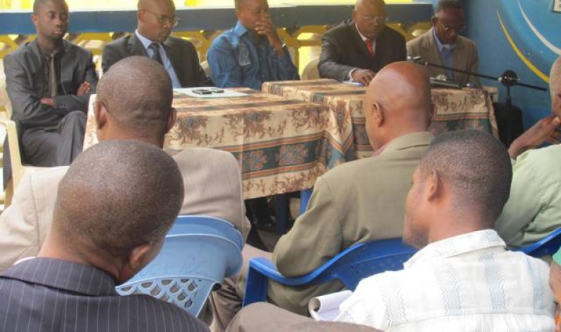 Matadi : les journalistes invités au professionnalisme pour des élections apaisées