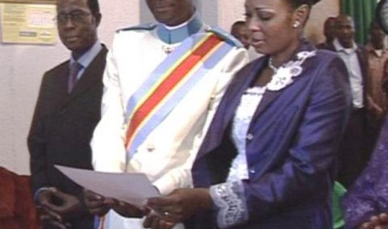 Page Rose : le vice-gouverneur marié civilement à la mairie de Matadi