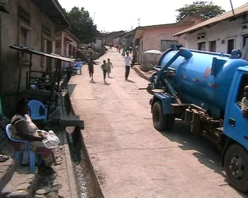 Matadi : l'avenue Songololo redevient carrossable