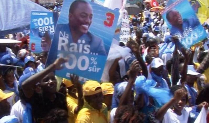 Election présidentielle : les habitants invités à voter Joseph Kabila