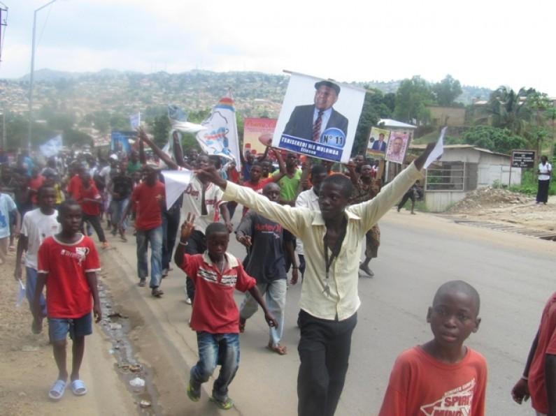 Election présidentielle : intolérance de la part de certains jeunes identifiés au candidat Tshisekedi
