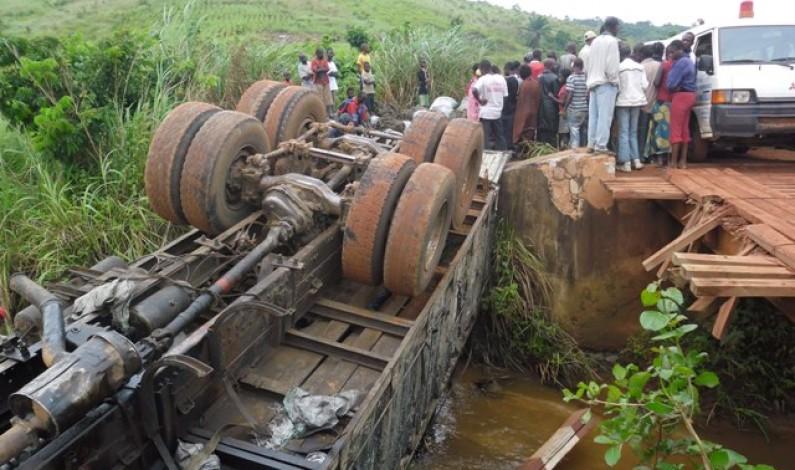 Route de Kamba : la vétusté d'un pont à la base d'un accident qui tue 6 personnes